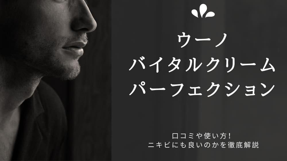 uno(ウーノ)のBBクリーム【バイタルクリームパーフェクション】の口コミや使い方を徹底解説!ニキビにも良いのか